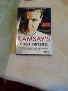 RAMSAY'S KITCHEN NIGHTMARES - SERIES 1 & 2