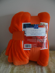 Brand New Life Comfort Twin Size Soft Blanket/Throw