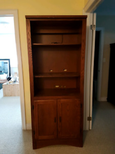 $50 each Cabinet/bookcase
