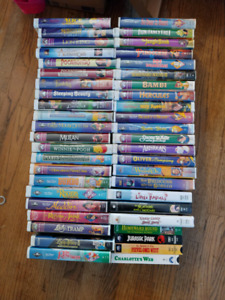 Disney and non VHS