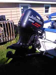 1998 JOHNSON 150hp OUTBOARD