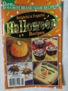 Cookbook for Halloween