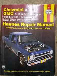 Chevrolet GMC Haynes reapir Manual