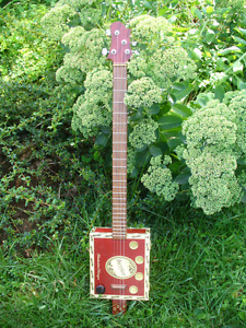 Hand crafted Cigar Box Guitar