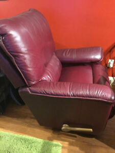 LaZBoy Leather Recliner Chair