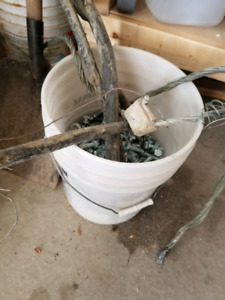 Scrap metal. Dishwasher, copper wire, bolts and washers FREE