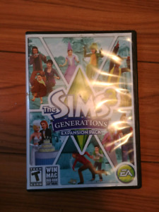 Sims3 generations expansion pack