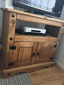 Corona Mexican Pine solid wood TV unit