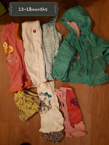 ~* Girl clothes 12-18months and girls 18months *~