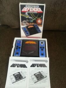 Vintage LCD Handheld,and tabletop video games,CIB