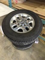 Like new Chevy 2500 tires and wheels