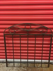 Single Cast Iron Bed Frame