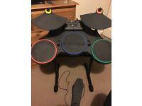 Guitar hero drum kit Xbox 360