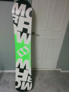Morrow lithium 159cm snowboard with K2 bindings