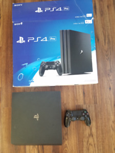 Trade my Ps4 pro 1Tb for your old PS4 and your $200