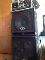 Ampeg svt 4 pro bxt bass cabs