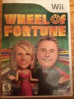 Wii Wheel of Fortune Game