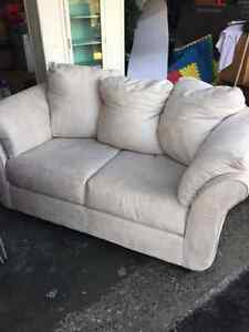 Microfiber couch and love seat Belleville Belleville Area image 1