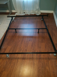 King Size Bed Frame and Split Box Spring
