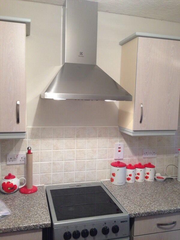 electrolux efc62380ox 60cm stainless steel chimney cooker. Black Bedroom Furniture Sets. Home Design Ideas