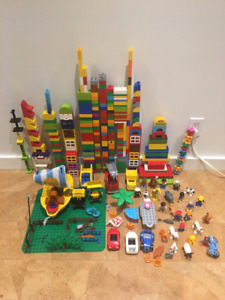 Lego Duplo - Large Collection Including Characters