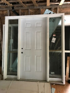 New window, exterior door and approx 50 interior doors