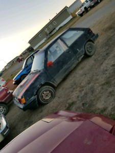 1986 Toyota tercel 2 door hatch back