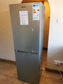 🍍Grey🍇 silver❤️ fridge freezer🍉 free local delivery🍋