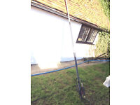 24ft telescopic lance, ideal for roof cleaning, guttering etc