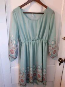 Pinkblush maternity dress size xl