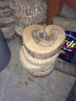 Round Wooden Bases (Wedding)