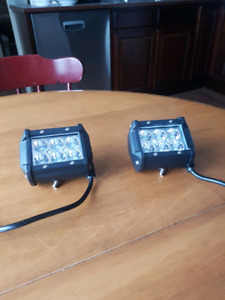 "4"" LED light pods"