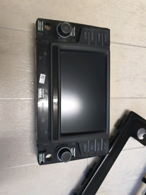 A Volkswagen MK7 Display Screen Stereo Navigation system