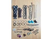Selection of Costume Jewellery and Belts and Hair accessories