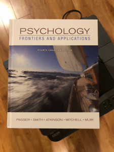 Psychology Frontiers And Applications (Fourth Edition)