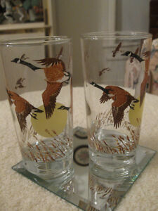 "PAIR of '60's VINTAGE COLLECTOR'S TUMBLERS..""IRVING OIL"""