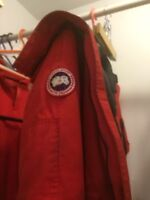 Canada Goose Rouge échange accepter