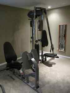 Vision Fitness ST200 Functional Trainer Gym with ST250 leg press