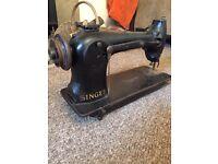 Very old vintage singer sewing machine Jones antique