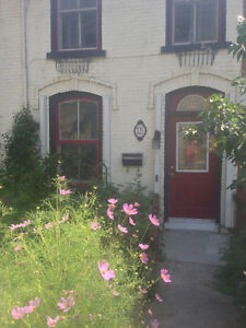 charming one bedroom apartment century old brick house