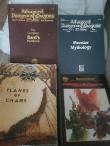 Advanced dungeon & dragon 2nd édition