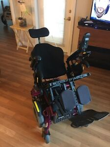 2015 Quickie Xperience Power Wheelchair with tilt Strathcona County Edmonton Area image 4