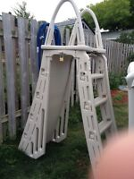 Above ground pool ladder for sale!