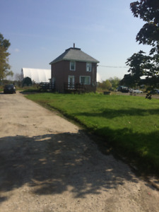 3 Bedroom home on over half an acre.