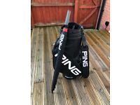 Ping Golf Tour Bag and Umbrella