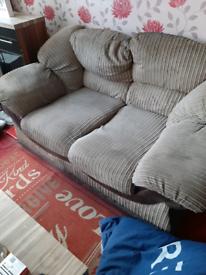 2 2x2 seater sofas
