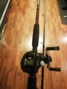 Ugly Stik Baitcast Rod and Reel COMBO Lews Speed