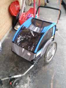 Double Bike Trailer and Stroller!!!