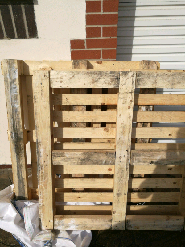 Two wooden pallets for free   in East Boldon, Tyne and ...