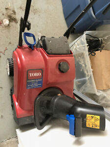New Snowblower, brand new fire pit in box, tires, flooring, more